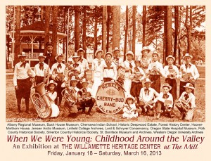 When We Were Young: Childhood Around the Valley @ Willamette Heritage Center   Salem   Oregon   United States