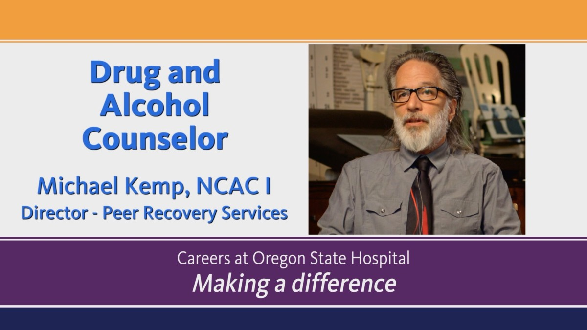 Video about being a Drug and Alcohol Counselor