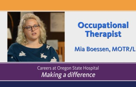 Video about Occupational Therapist