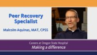 Video about Recovery Specialist
