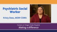 Video about Social Worker