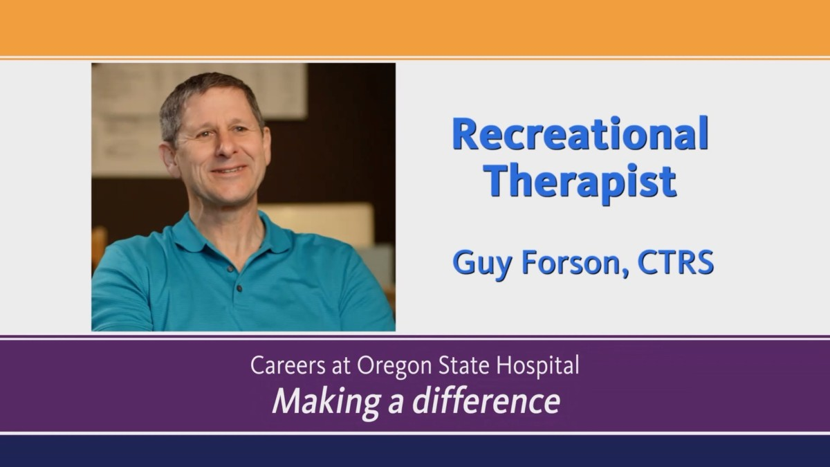 Video about Recreational Therapist